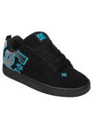 DC Court Graffik SE - Black/Turquoise/M Silver - Men's Shoes