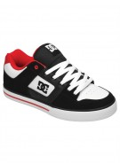 DC Pure - Black/White/Red - Men's Shoes