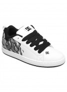 DC Court Graffik SE - White/Dark Grey - Men's Shoes