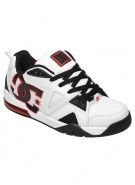 DC Cortex - White/Black/Red - Men's Shoes