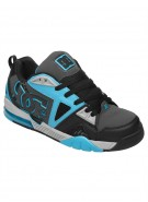 DC Cortex - Black/Battleship/Turquoise - Men's Shoes