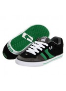 Globe Encore - Men's Shoes - Black/Green/Charcoal