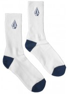 Volcom Full Stone - Men's Socks - White