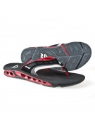 Reef Vision - Men's Sandals - Black / Red