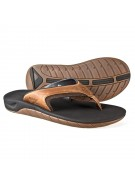 Reef Leather Slap II - Men's Sandals - Dark Brown