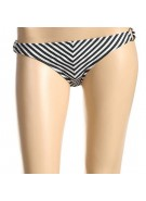Hurley Ladies Swimwear Line It Up Ring Hipster - Women's Swimwear - Small