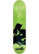 Cliche Europe LUX R7 - Flourescent Green/Black - 7.9 - Skateboard Deck