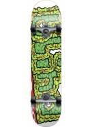 Blind Brain Drain Micro - White/Green - 6.5 - Youth Complete Skateboard