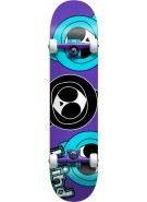 Blind Three Kennys - Purple/Teal - 7.5 - Complete Skateboard