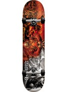 Darkstar Battle First Push - Orange - 7.5 - Complete Skateboard