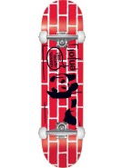 Enjoi Street Art - Red/Black - 7.7 - Complete Skateboard