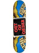 Anti-Hero Out of Order Medium - 8.38 - Blue - Skateboard Deck