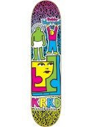 Krooked Bobby Worrest Bright On - 8.18 - Blue - Skateboard Deck