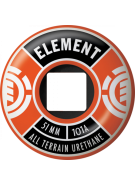 Element Divided 51mm - Orange - Skateboard Wheels