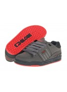 Globe Fusion - Charcoal/NIght/Red - Skateboard Shoes