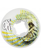 OJ 54mm Surfers on Acid Team White 99a - Skateboard Wheels