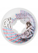 OJ 56mm Surfers on Acid Team White 99a - Skateboard Wheels