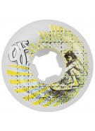 OJ 58mm Surfers on Acid Team White 99a - Skateboard Wheels