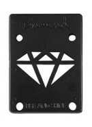 Diamond 1/8in - Black - Skateboard Riser