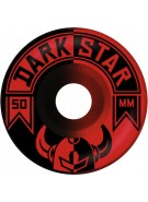 Darkstar Split Price Knight - Red/Black - 50mm - Skateboard Wheels