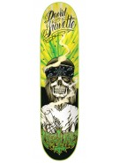 Creature Gravette Hippie Skull Powerply 31.6 in 8 in - Skateboard Deck