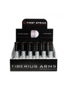Tiberius Arms First Strike Paintballs 24 8 Round Tubes - White Fill