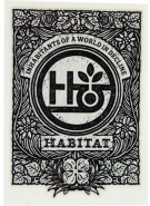 Habitat Inscription - Sticker