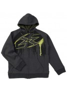 Empire 2011 Splash Hooded Sweatshirt ZE - Yellow
