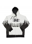 Empire 2012 Drip TW Hooded Sweatshirt - White/Black