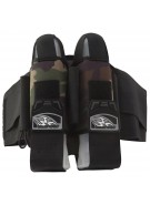 Empire 2012 React Breed Paintball Harness - 2+5 - Woodland Camo