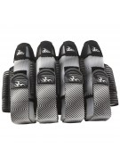 Empire 2012 Liquid Breed Paintball Harness - 4+7 - Black & White ZZ