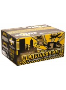 WPN Weapons Grade Paintballs Case 500 Rounds - Blue Shell - Yellow Fill