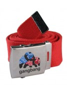 Enjoi Gangbang Web Belt - Red - Belt