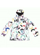 Volcom Hoffman 2011 - MOD Collage - Snowboarding Jacket - Large