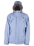 Four Square Adams - Light Blue Trees- Snowboarding Jacket