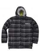Forum Jekyl and Hyde - Plaid of Death - Snowboarding Jacket - Extra Large