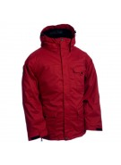 Ride Wedgewood - Red Herringbone - Snowboarding Jacket