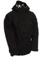 Ride Rainier - Black Diamond Stripe - Snowboarding Jacket - XX Large