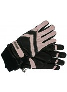 Grandoe Gretchen - Black / Pink - Women's Gloves - Medium