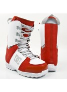 DC Rogan 2010 - Men's Red / White Snowboard Boots