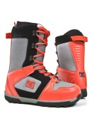 DC Phase 2010 - Men's Red / Grey Snowboard Boots