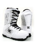 DC Phase 2010 - Men's White Snowboard Boots