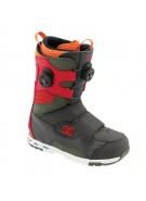 DC Status 2011 - Men's Dark Shadow / True Red Snowboard Boots