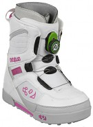 ThirtyTwo Exus Boa 08 - Youth's White / Pink Snowboard Boots