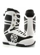 ThirtyTwo Exus 2010 - Men's White / Black / Grey Snowboard Boots - Size 8