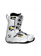 Vans Andreas Wiig 09 - Men's White / Plaid Snowboard Boots
