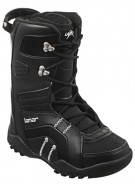 Lamar Force 09 - Boy's Youth Black Snowboard Boots