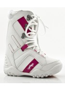 Lamar Liftie 2010 - Girl's Youth White Snowboard Boots