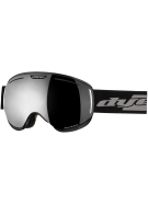Dye CLK Black Snowboard Goggles w/ 2 Additional Lenses - Smoke Silver Polarized