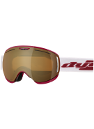 Dye CLK Red Snowboard Goggles w/ Additional Lens - Bronze Fire